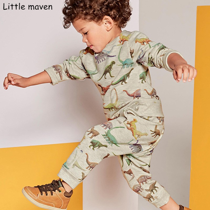 Little-maven-childrens-sets-2017-new-autumn-boys-Cotton-brand-long-sleeve-dinosaur-print-t-shirt-pants-20148-1