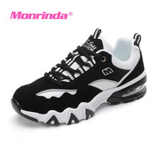 2017 Monrinda Women Sneakers Cushioning Men Running Shoes Breathabke Mesh Sport Woman Zapatillas Deportivas Mujer A16