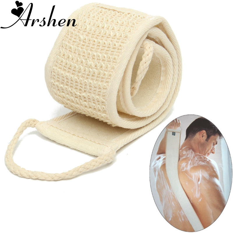 Spa-Scrubber Sponge Massage Back-Strap Cleaning-Tool Bath Shower Body-Skin Natural Soft