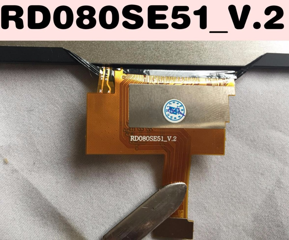 625 A 8 Second Hand RD080SE51 V 2 RD080SE51 Tested Full LCD Screen Display For tablet