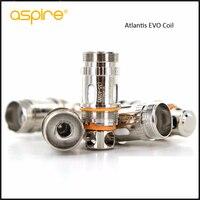 Aspire Atlantis Wymiana Głowicy Cewki Kanthal EVO Clapton 0.5ohm Cewki 1 pack 0.4ohm i 1 pack dla Serii Atlantis Atomizer