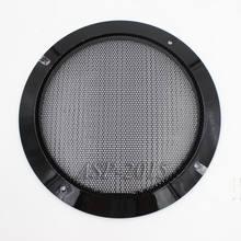Cubierta negra Universal para rejillas de altavoces de coche, Panel de altavoz Coaxial de 6,5