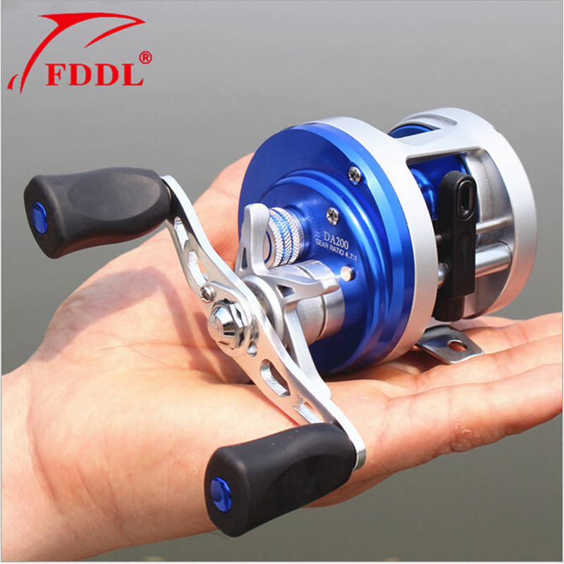 FDDL Brand DA200 High magnetic control Right Left Hand Bait Casting Fishing Reel 11+1BB 4.7:1 253g Baitcasting Reel 12 1bb left right hand bait casting fishing reel 6 3 1 baitcasting reel magnetic brake system fish wheel pesca lyw 013