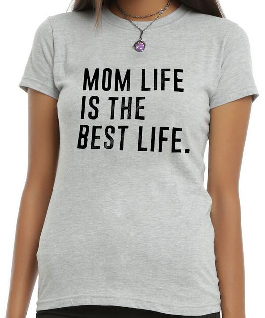 Hot Sale Mom Life Is The Best Life T Shirt Women Summer Casual Style T-shirt Tee Shirt Short Sleeves O-neck Tops ...