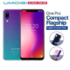 Image 1 - Umidigi One Pro смартфон с 5,9 дюймовым дисплеем, восьмиядерным процессором Helio P23, ОЗУ 4 Гб, ПЗУ 64 ГБ, Android 8,1