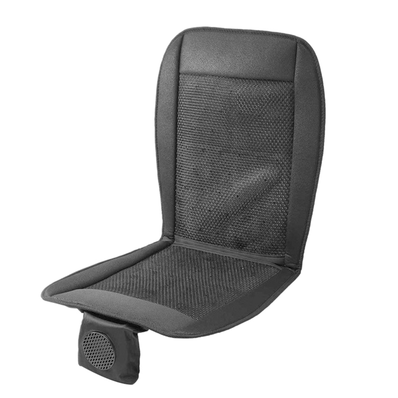 12V Cooling Summer Car Seat Cushion Cover WITH/ Air Ventilation Fan Conditioned Pad(China)