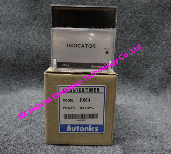цена на 100% Authentic original FX6-I FX6-1 Autonics Count relay 100-240VAC