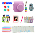 Fujifilm Instax Mini 8 Film Camera Accessories Bag Filter Close-Up Lens Photo Frame Stickers Clip with Rope Graffiti Pen