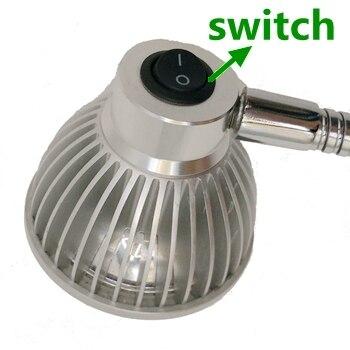 110V/220V 5W Gooseneck Led Work Light 110v