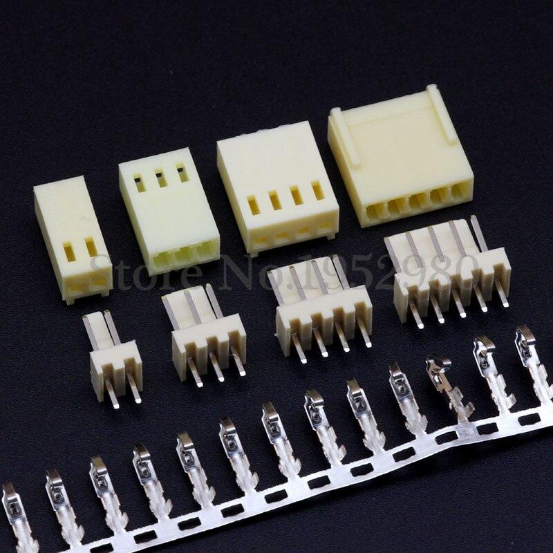 Conector de paso 2.54mm con Hebilla XHB2.54 Recto Pin Socket 2//3//4//5//6//7//8 ~ 10P