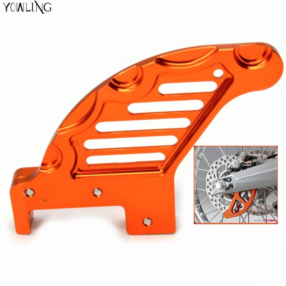 Accesorios de la motocicleta del cnc de aluminio de disco de freno Trasero guard