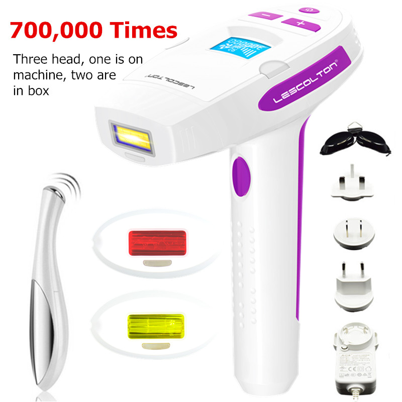 Lescolton IPL Permanent Painless Laser 100-240V Hair Removal Female Epilator For Whole Body Bikini Women Electric Hair Remover цена 2017