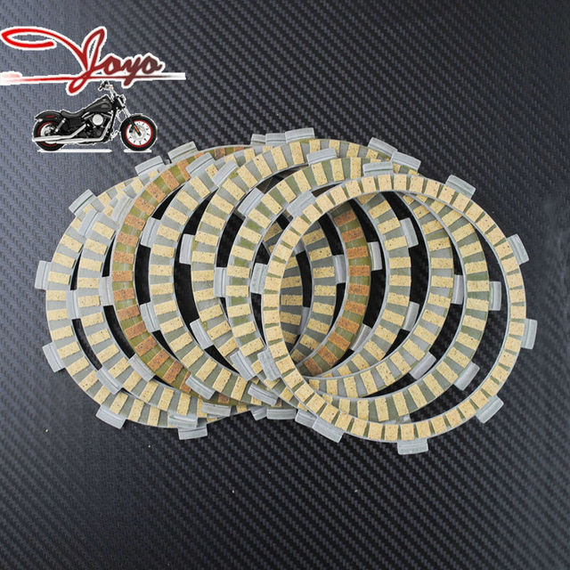 Motorcycle Paper-based Wet Clutch Friction Plates For Street/Vintage/Dirt CB350F CB400T & Motorcycle Paper based Wet Clutch Friction Plates For Street/Vintage ...