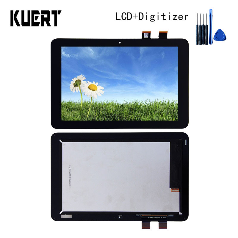 все цены на 100% Test Panel LCD Combo Touch Screen Digitizer Glass LCD Display Assembly  For ASUS Transformer Mini T102HA  Accessories Parts онлайн