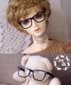 Bjd куклы очки без очков может складывайте