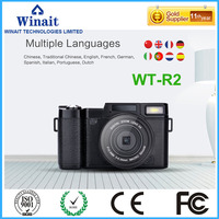 Hot Sale DSLR Digital Camera 3 0 1080P Digital Video Recorder 24mp Optional Wide Angle Lens