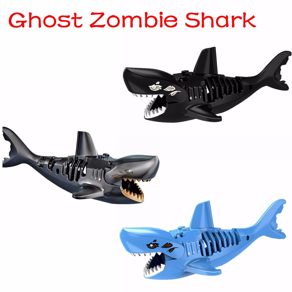 Lego Shark Toys For Boys : Popular building bricks buy cheap lots