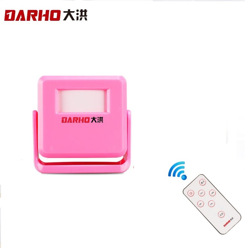 Frugal Darho Smart Wireless Door Bell Guest Welcome Chime Alarm Pir Motion Sensor For Shop Entry Security Doorbell Infrared Detector 100% High Quality Materials
