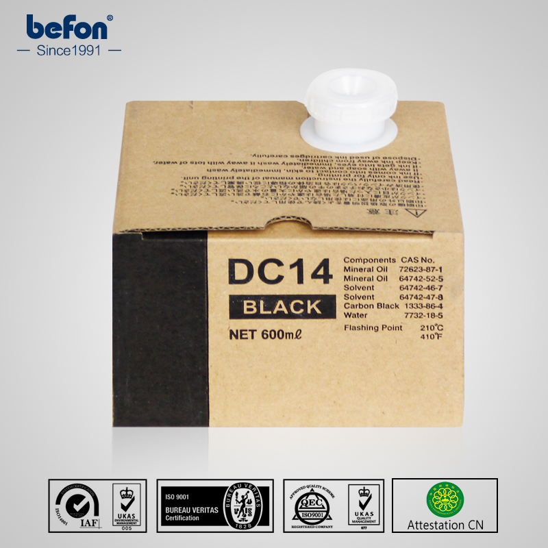 befon Duplicator Ink DC14 dc14 14  for use in Duplo  DP120 DPM300 420 DPC120 50 60hz automatic voltage regulator for kutai brushless generator avr ea16 free shipping
