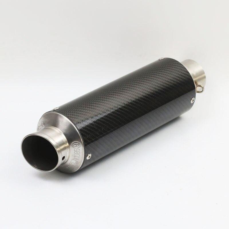 Motorcycle Exhaust Pipe Muffler For LEOVINCE Leo Vince Corsa CB400 CBR600 CBR1000 CBR250 CBR125 ER6N ER6R YZF600 Z750 Tmax