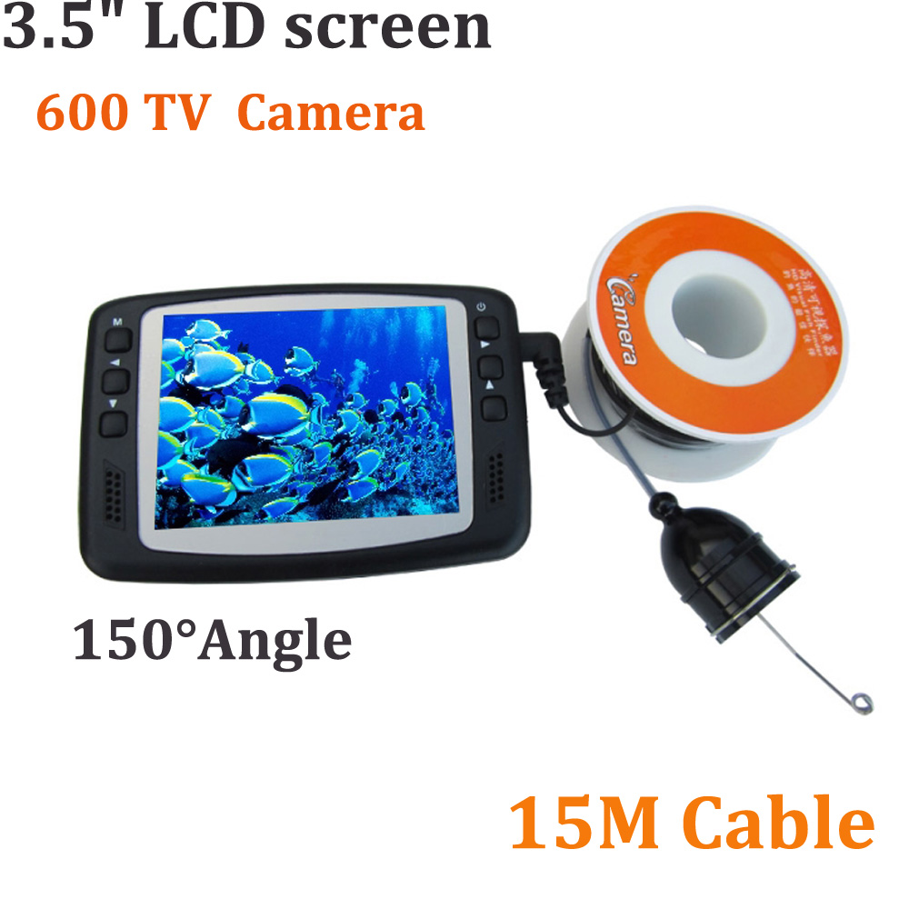 Visual fish finder underwater video camera 600 tv line 3 5 - Tv in camera ...