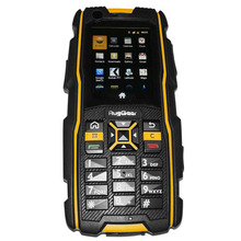 RugGear RG920 waterproof phone – Unlocked Mobile Phone (Black and Yellow)