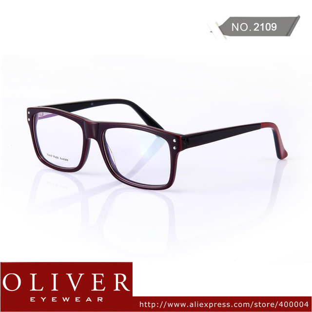 New arrival 2013 Very Fashion Optical Frame Eyeglasses For Men Or Women  Temple Patch Eyewear Frame Brand 2109 Free Shipping!