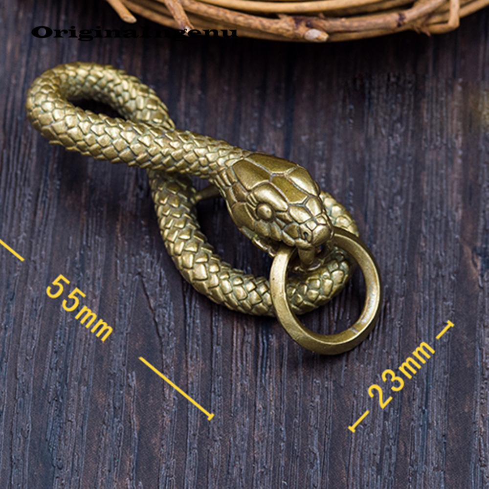 Image 4 - Porte Clef Keychain Men Jewelry Chaveiro Vintage Snake Llaveros Sleutelhanger Llaveros Charm Birthday Gift Key Ring Accessories-in Key Chains from Jewelry & Accessories