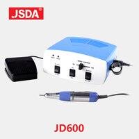 Direct Selling Jsda Jd600 professional Manicure Pedicure Nail Drill Machine Electric Bits tool Nails Art Equipment 35w 30000rpm