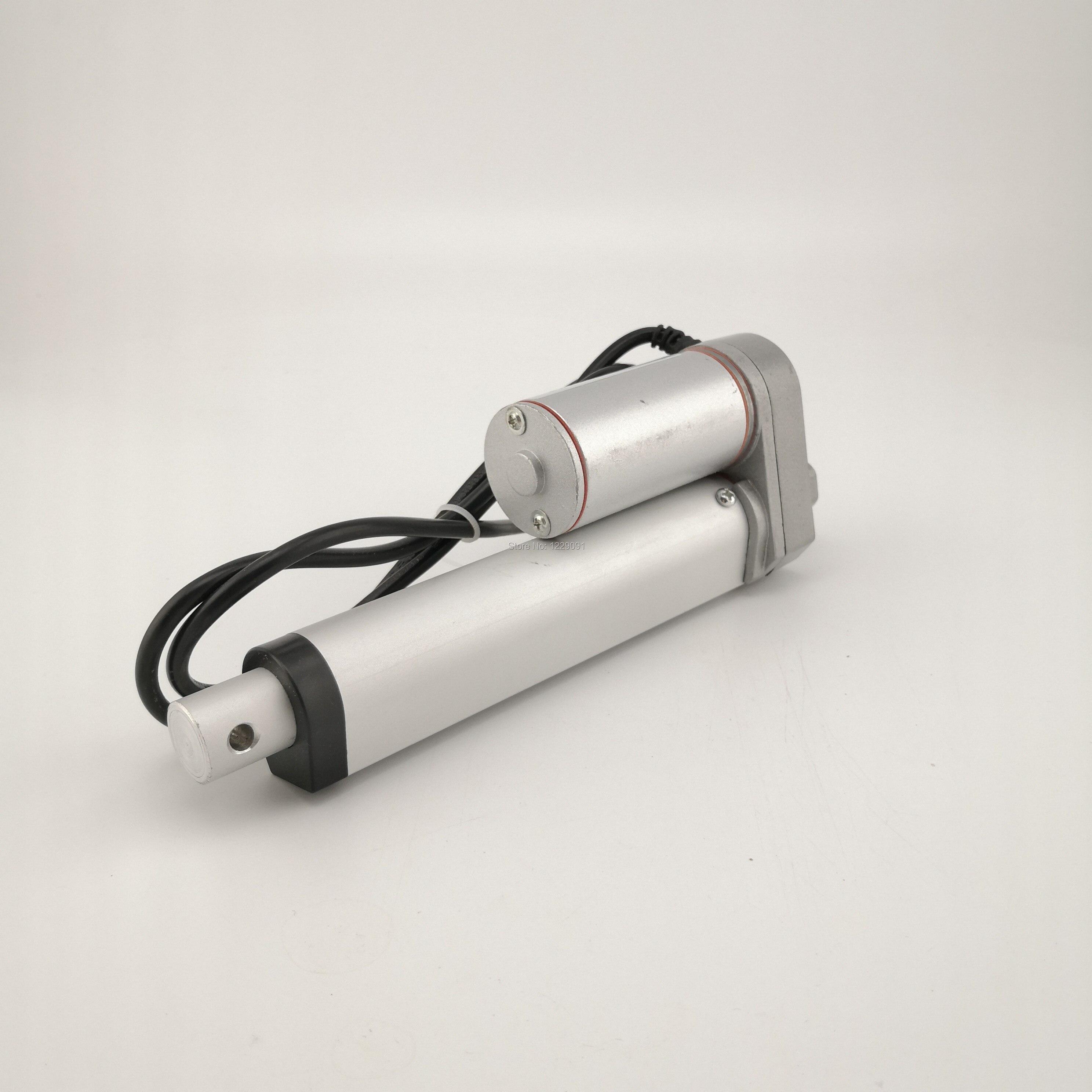 Electric Linear Actuator 450mm Stroke Linear Motor Controller DC12V 24V 36V 48V