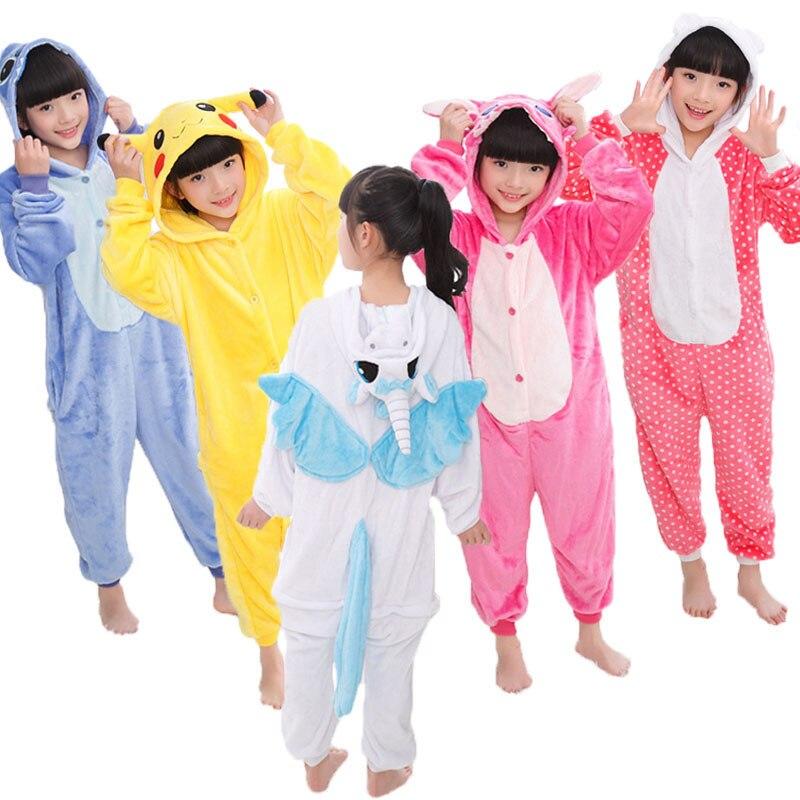 Kigurumi Onesie niños animales Panda pijamas niños franela dibujos animados niños niñas unicornio fiesta Cosplay pijama adolescente ropa de dormir Mallas de bebé MILANCEL a rayas para bebés y niños leggings ajustados leggings coreanos para niñas