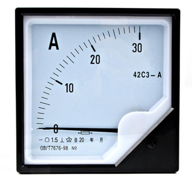 42C3 DC pointer type 75mV amperemeter pointer type 10A 20A 30A 50A 75A 100A 150A 200A 250A 300A Analog ammeter panel измеритель величины тока yongsheng ys 50 dc300a ampmeter 5 x 5 x 1 300a 75mv 2 5 ys 50 dc 300a
