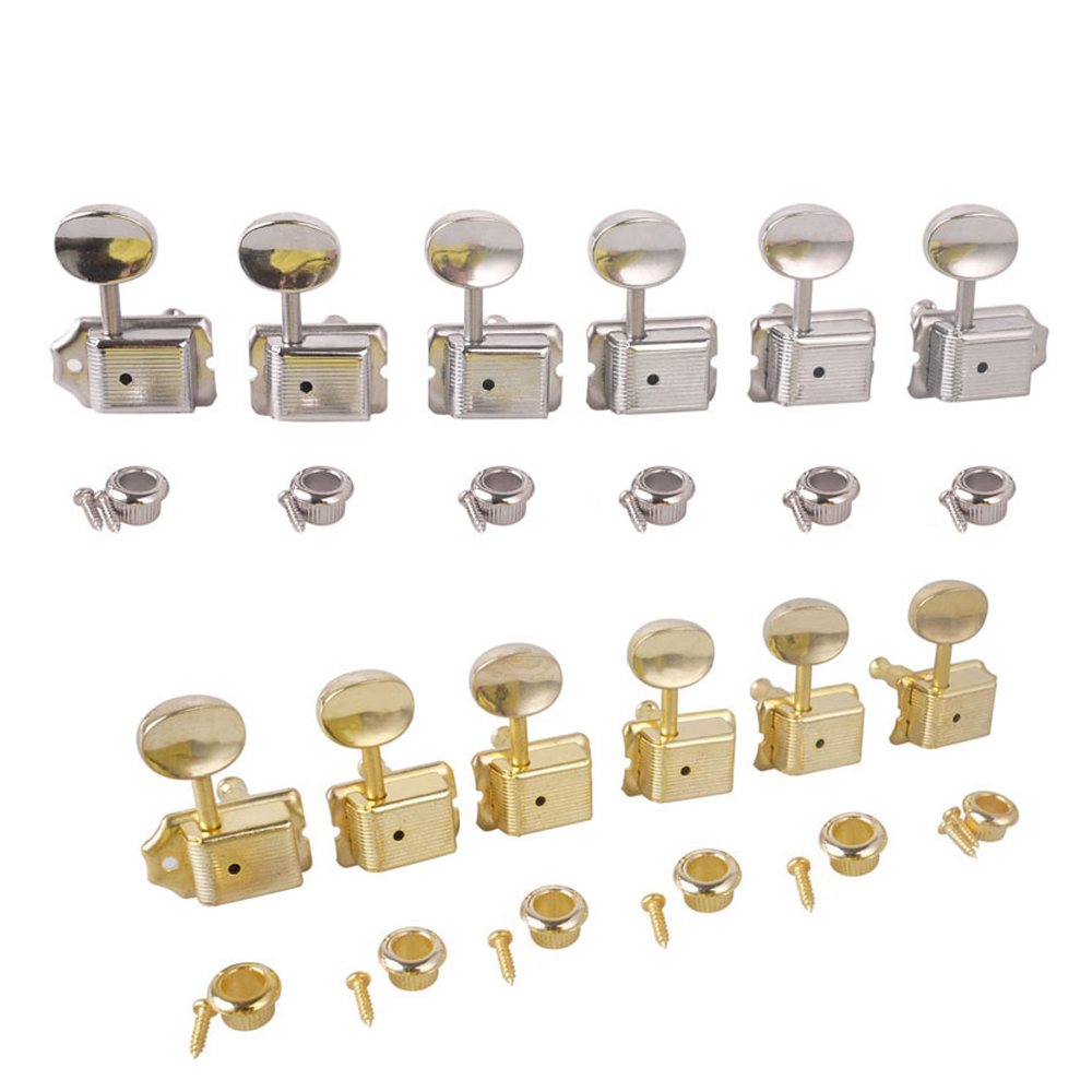 6R Vintage Style Electric Guitar String Tuning Pegs Tuner Machine Head for Stratocaster Strat For Telecaster 7 B