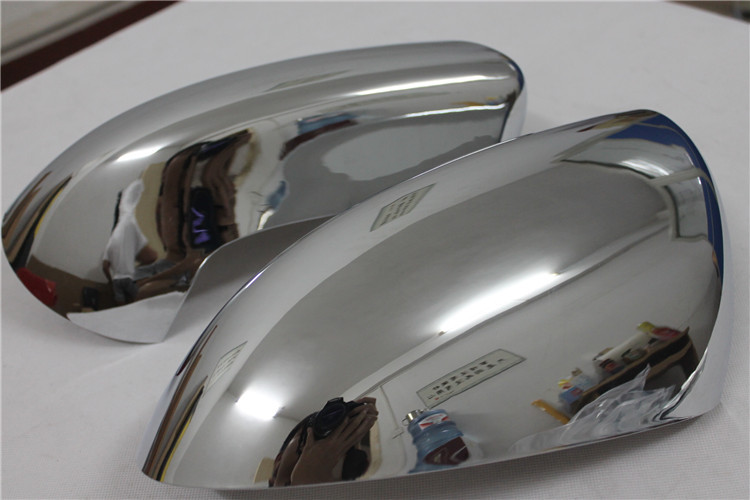 ABS Chrome Rearview Side Door Mirrors Cover Trim 2PCS for Nissan Qashqai 2007 2008 2009 2010 2011 2012 2013 xyivyg for ford kuga escape 2013 2014 2015 chrome side rearview mirrors cover trim 2pcs