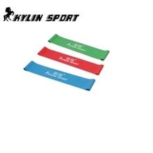 gratis forsendelse Sæt med 3 kombination latex modstand bands træning øvelse pilates yoga bands loop armbånd ankel elastik bælte