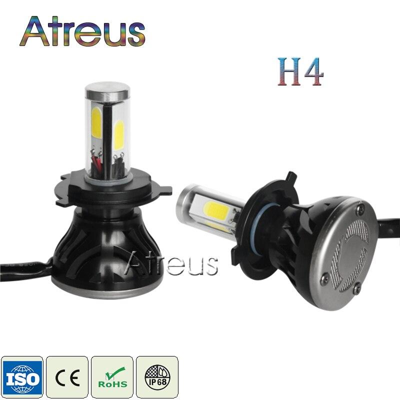2pcs New LED H4 High/Low Headlights 40W*2 4000LM*2 COB Auto Light 1set Hot sale Car Styling G5 For Cars Headlamp Light Bulbs Kit
