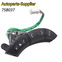 High Quality! 3 Color 75B037 For Toyota Highlander Land Cruiser Steering Wheel Controls Switch 84247 58010