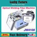 Envío Libre de Dhl JoinWit JW4108 Fibra Óptica Fusionadora De Fibra Óptica De Soldadura Máquina de Fusión En Caliente de la Nueva Llegada