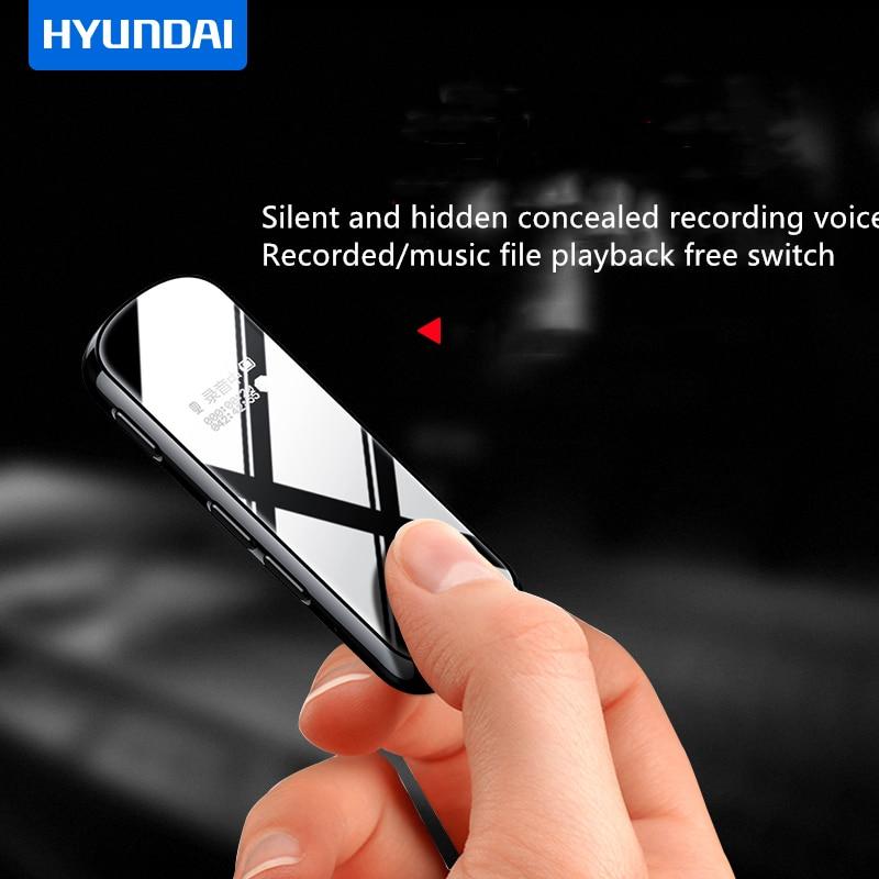 K602 Dictaphone ultra mini enregistreur vocal numérique avec clip 8 | 16 | 32 GB enregistrement HD activé par la voix 5 V WAV MP3 lecteur de musique de voiture