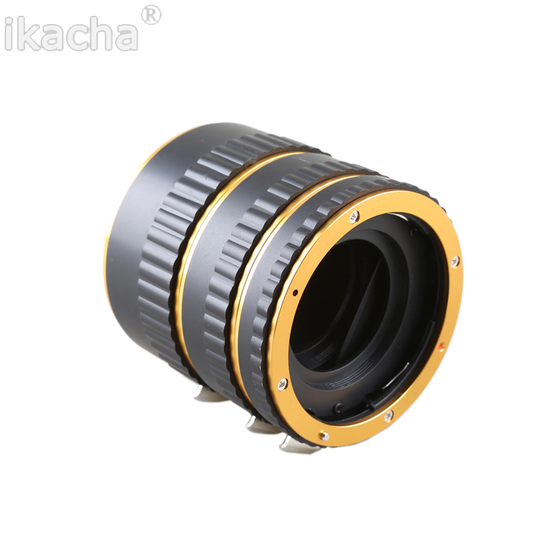 Metal Mount Auto Focus AF Macro Extension Tube Ring (2)