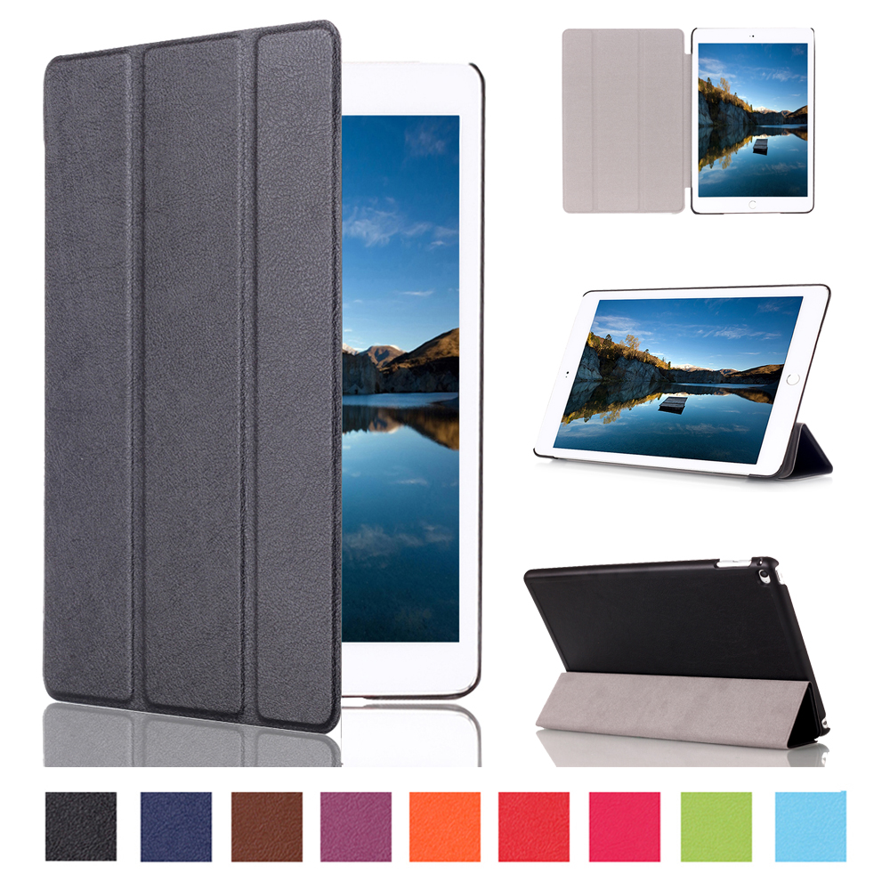 Magnet Smart Stand pu Leather case cover for apple iPad mini 4 Tablet cover case for ipad mini 4 case screen protectors stylus in Tablets e Books Case from Computer Office