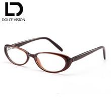 0ec76778df DOLCE VISION Oval Vintage miopía mujeres gafas claro lentes fotocromáticas  gafas correctivas prescripción Marca Diseño