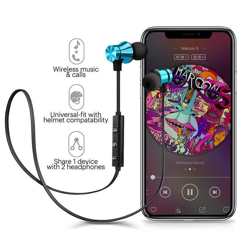Dla Huawei Honor 10 Lite 20i 10i słuchawki Bluetooth słuchawki bezprzewodowe słuchawki słuchawka dla Honor 9 Lite zestaw słuchawkowy sportowe słuchawki douszne