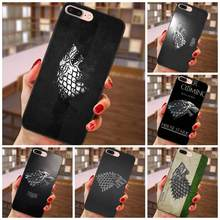 Games Of Thrones House Stark For Huawei nova 2 Plus 2S 3i 4 Y3 Y5 II Y6 Y7 Y9 Lite Plus Prime 2017 2018 2019 Soft TPU Call Box(China)