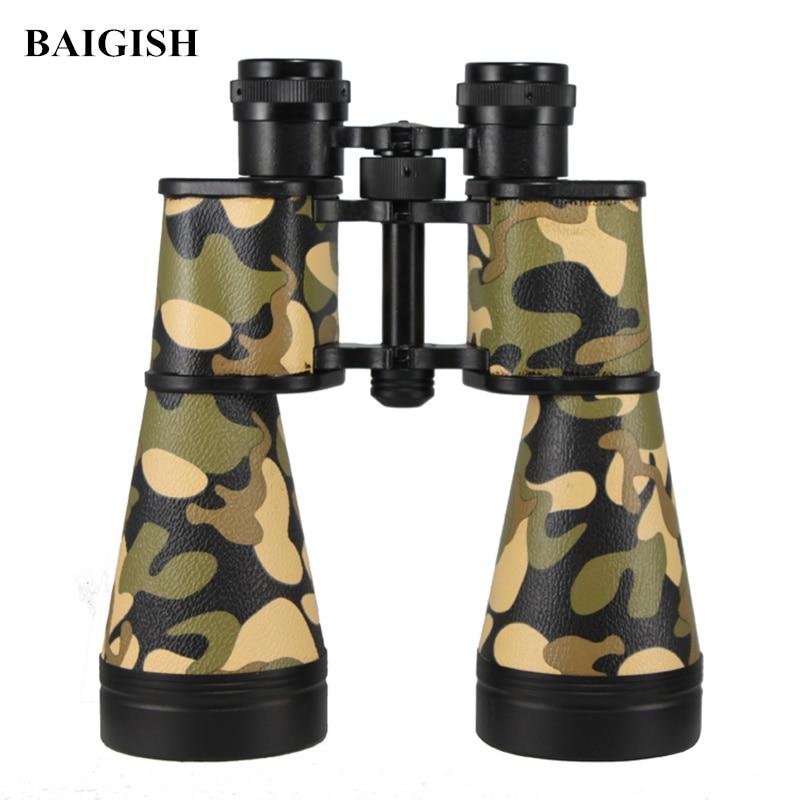 Original Russian Military Binoculars Baigish 15X60 Powerful Telescope High Quality Wide-angle binocular Hunting Lll Night Vision