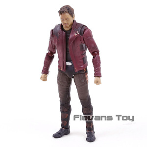 Image 5 - SHF Star Lord  Avengers Infinity War Guardians of Galaxy PVC Action Figure Collectible Model Toy