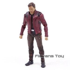 Image 5 - SHF yıldız efendisi Avengers Infinity savaş Guardians Galaxy PVC Action Figure koleksiyon Model oyuncak