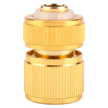 Alloy Water Hose Connector Fitting Switch Nozzle Garden Pipe Quick Fit Adapter Tap Hose Connector