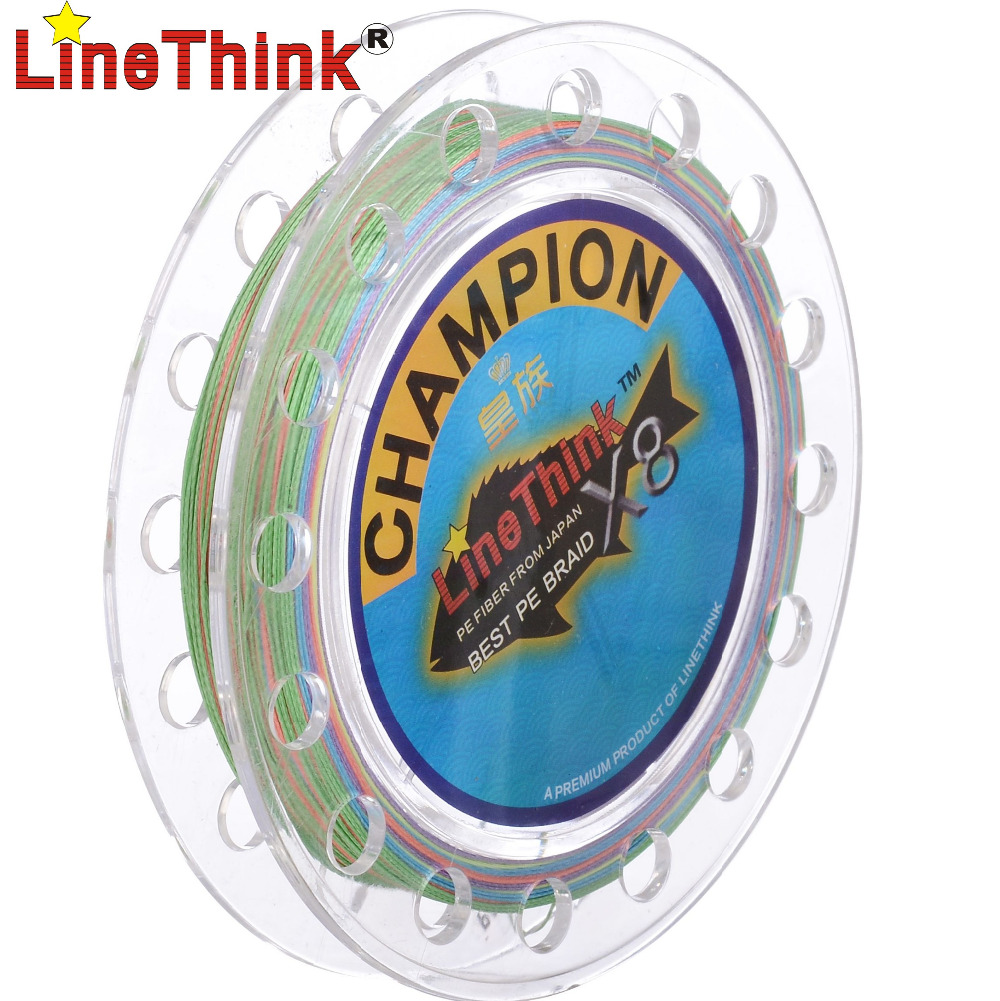 100m linethink brand ghampion 8strands 8weave best quality for Best fishing line brand