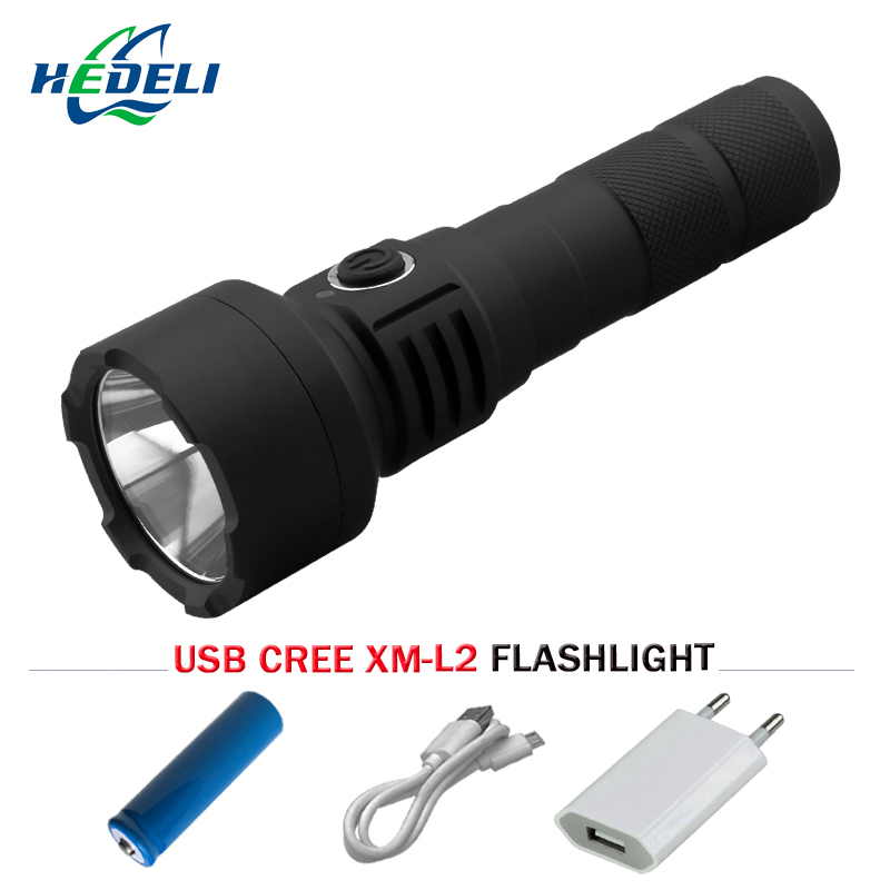 cree xm l2 powerful led flashlight usb rechargeable lanterna torch waterproof light18650 battery nitecore mt10a 920lm cree xm l2 u2 led flashlight torch